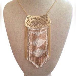 Stella & Dot Avalon Fringe Necklace